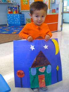 We learn about shapes at our Huntington Beach preschool.